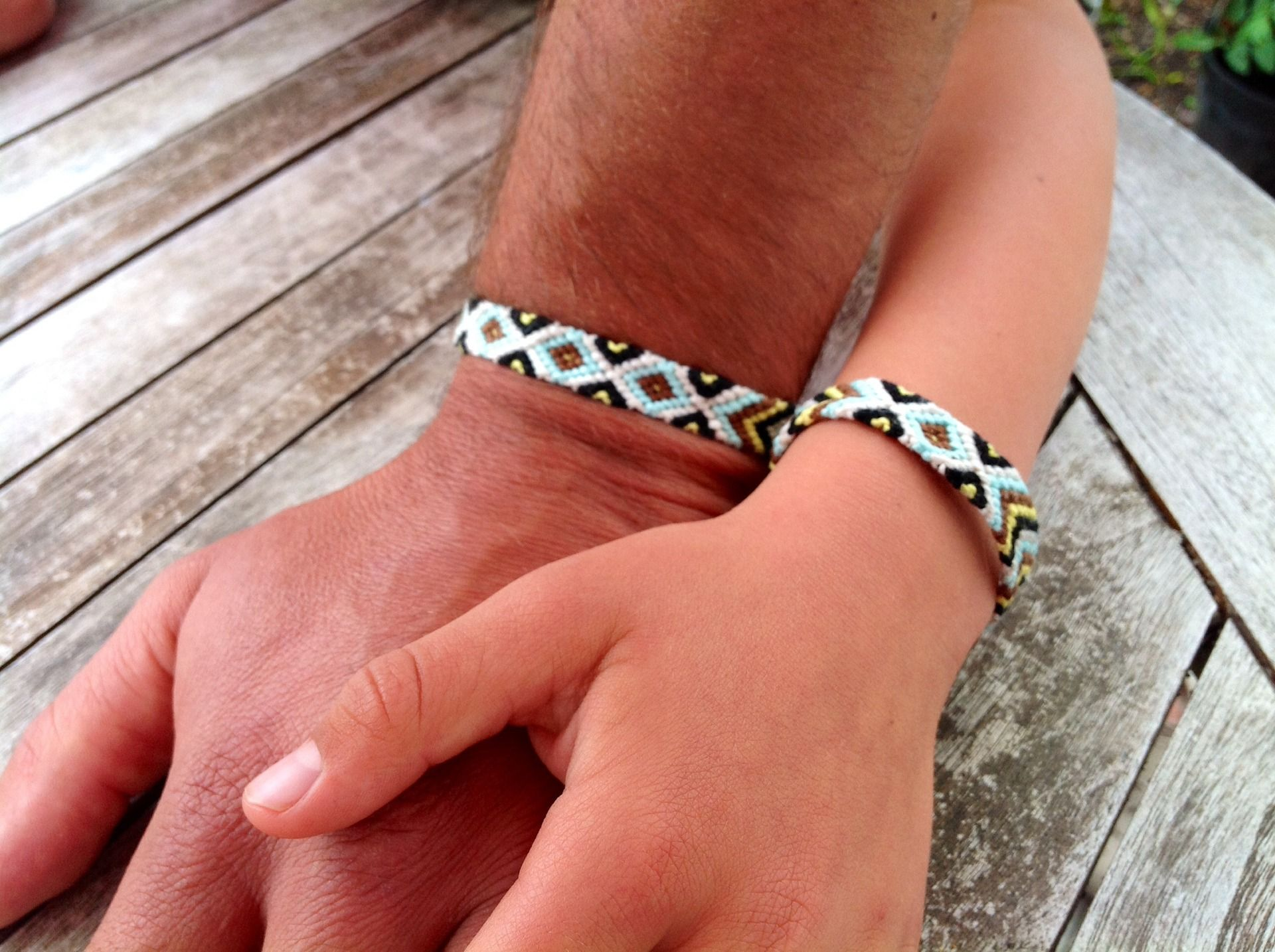 bracelet 7 fils