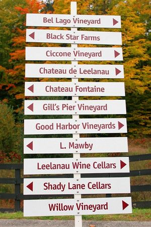 Michigan Has Some Great Wineries And This Site Is A Good Resource For Making Your Own Wine Trail Leelanau Michigan