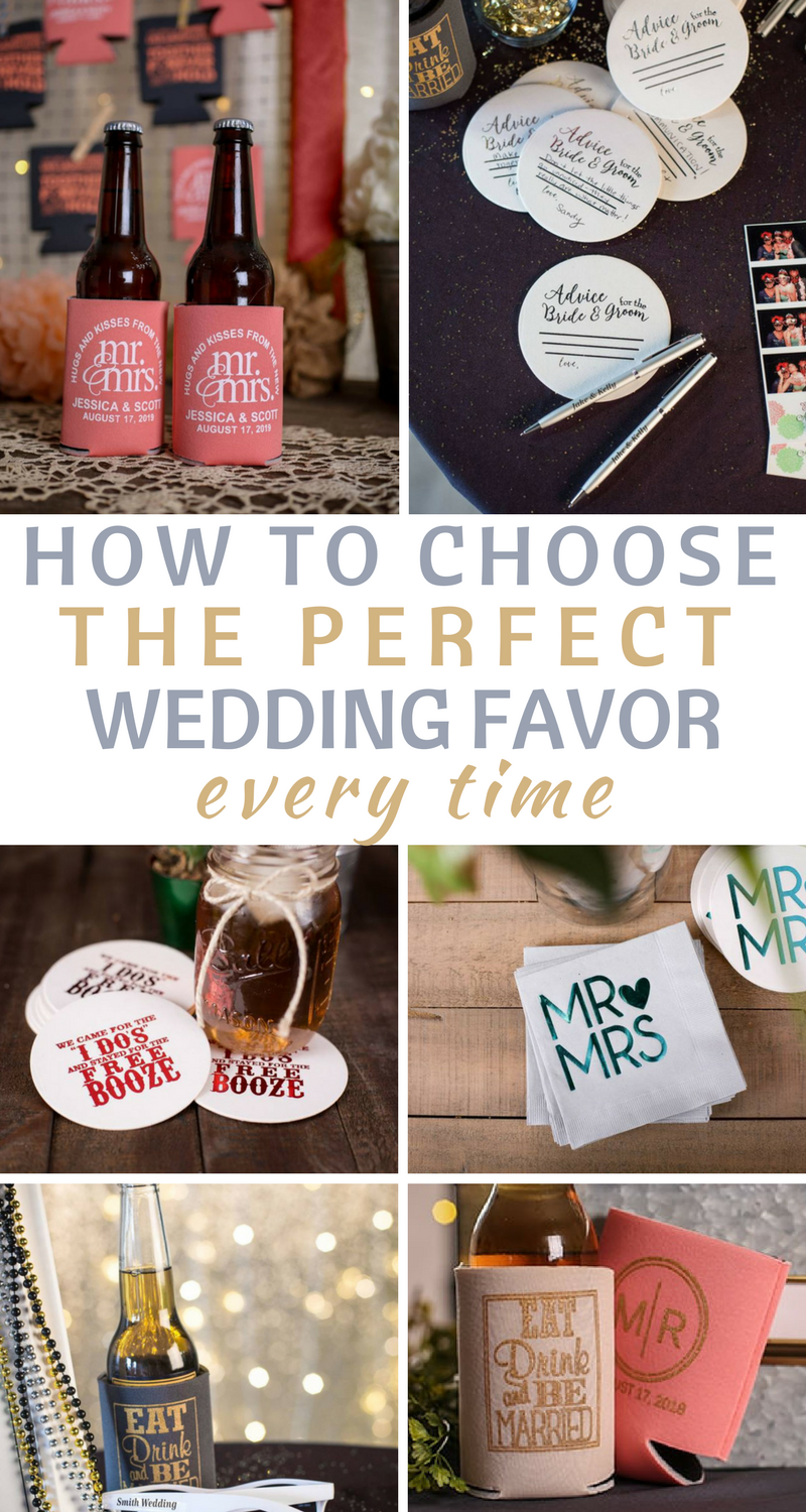How to Choose The Perfect Wedding Favor | Favors, Weddings and Wedding
