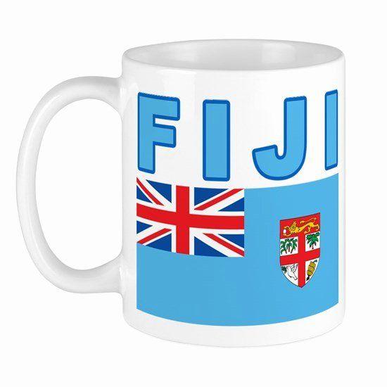Fiji Flag Coloring Page Unique Fiji Flag 11 Oz Ceramic Mug Fiji