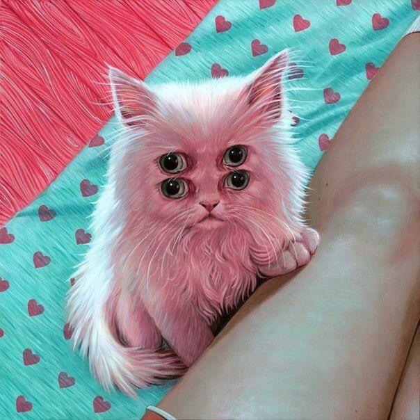 Картинка друзья это кошка работы нягани
