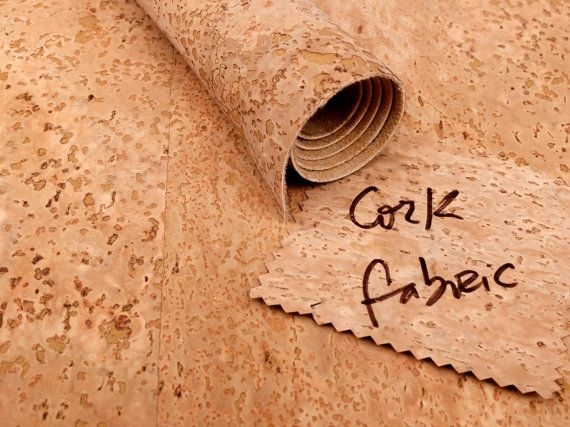 Low cost cork fabric by the yard, cork skin, cork leather fabric, 100*140cm 1.09yd*1.5yd, Eco Friendly Craft Supplies made in Portugal, kork