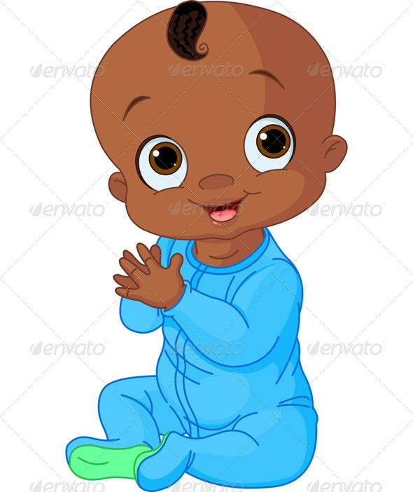 baby boy clapping hands african american art american art and rh pinterest co uk african american baby girl clipart free african american baby boy clipart