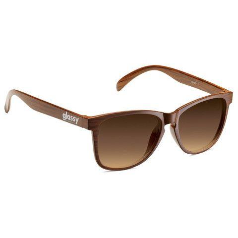 Glassy Sunhaters Deric Wood Sunglasses