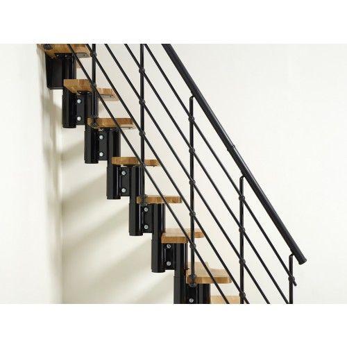 Best Arke Oak30 Xtra Modular Stairway Second Handrail Kits 640 x 480