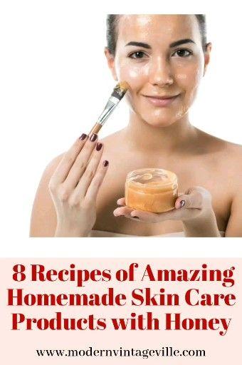 Photo of Moisturizing, hydrating and nourishing DIY honey face products