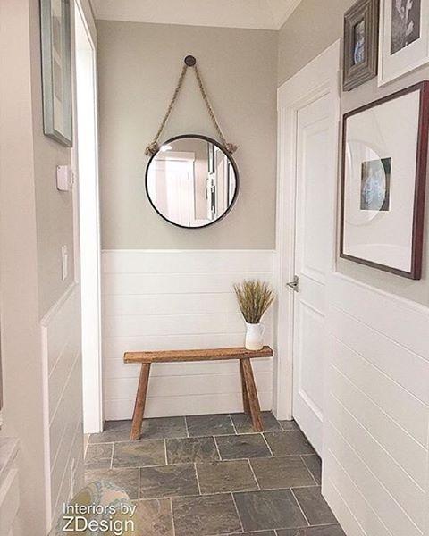 This Narrow Hallway Has Big Style Thanks To