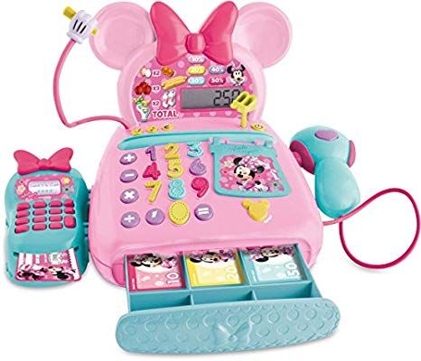 IMC Toys 181700 Electronic Cash Register Calculator - Pink