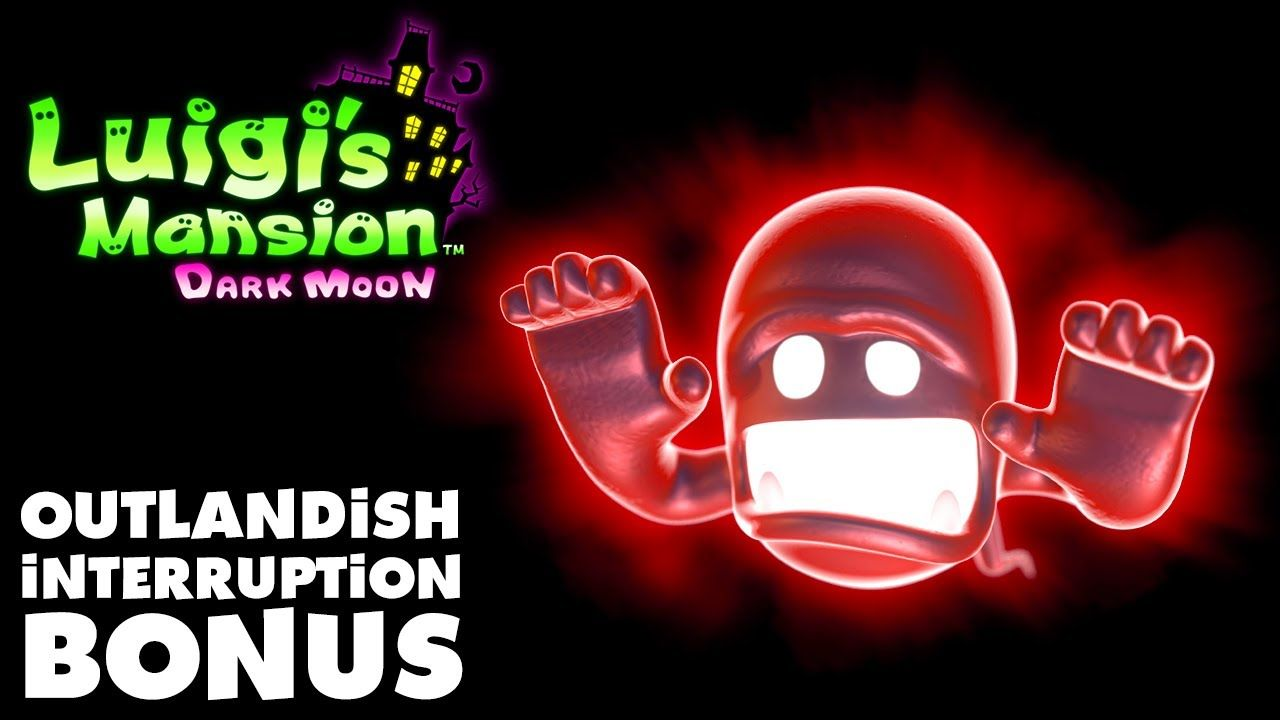 Luigi's Mansion Dark Moon - Old Clockworks - Outlandish Interruption Bon...