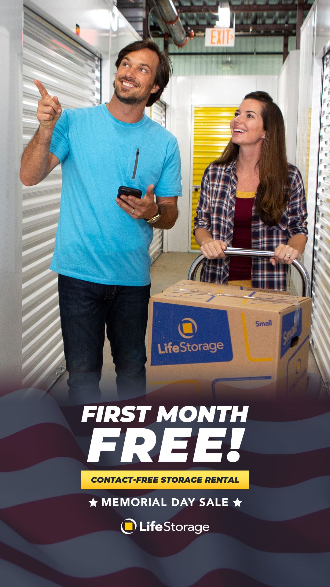 Get Your First Month FREE! in 2020 Life storage, Self