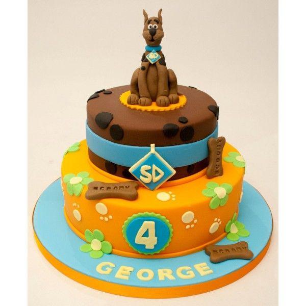 Scooby Doo Halloween Birthday cake By ToyCakecom Toycakecom
