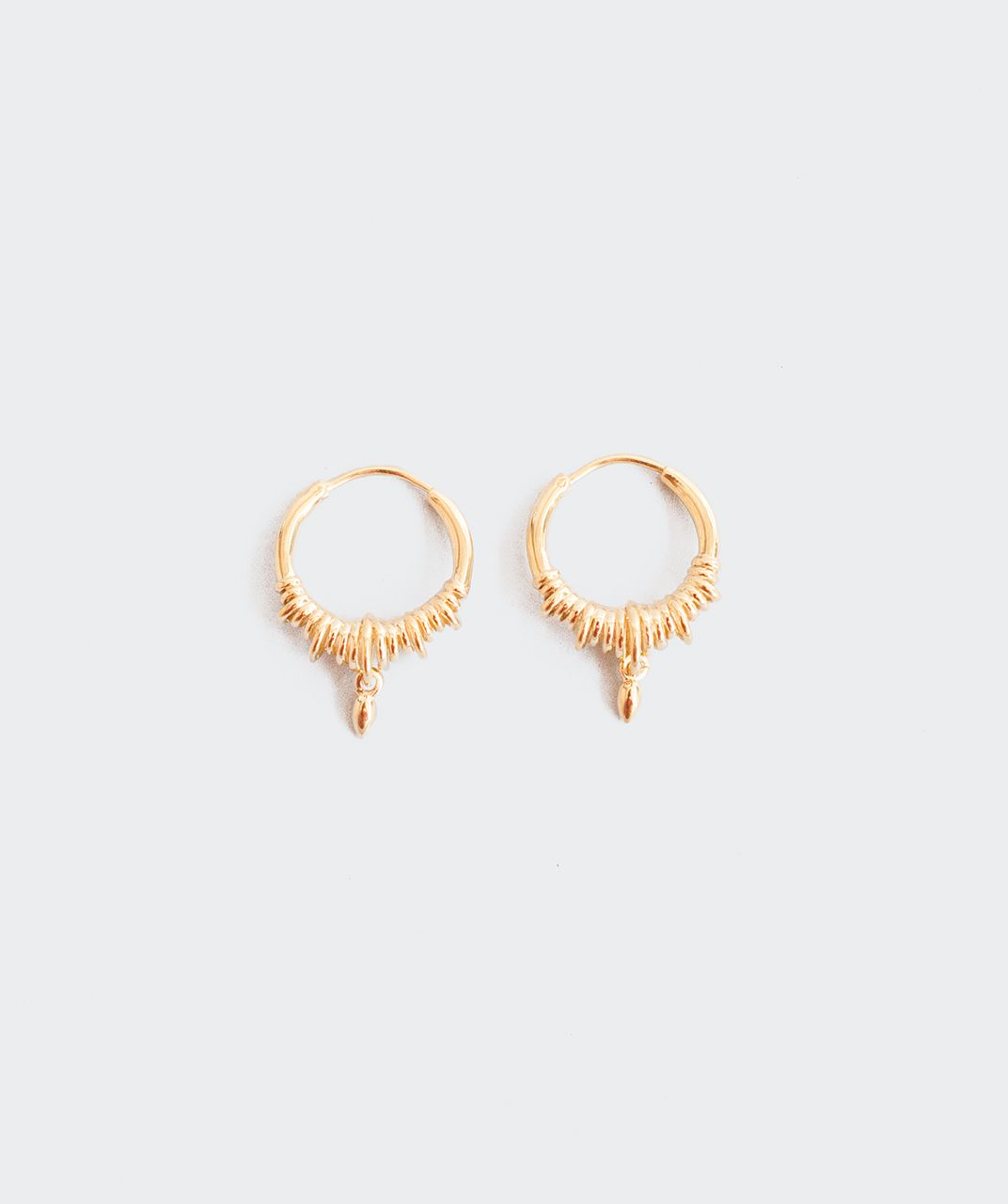 Revival Hoop Charm Earrings | Street, Designers and Collection