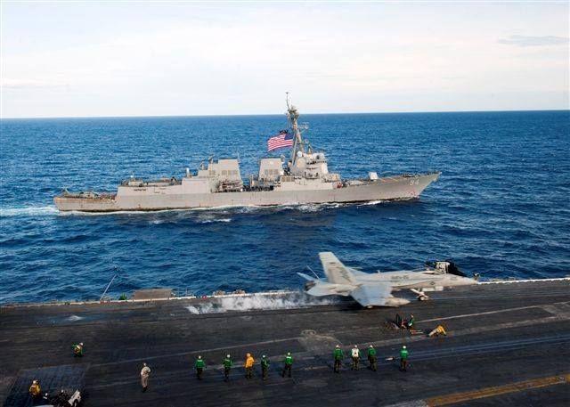 121015-N-JV638-011. October 15 2012, USS Nitze (DDG 94) alongside the USS Enterprise (CVAN 65)