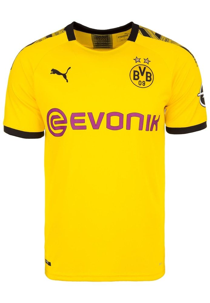 PUMA Trikot 'Borussia Dortmund' Herren, Gelb Neonlila