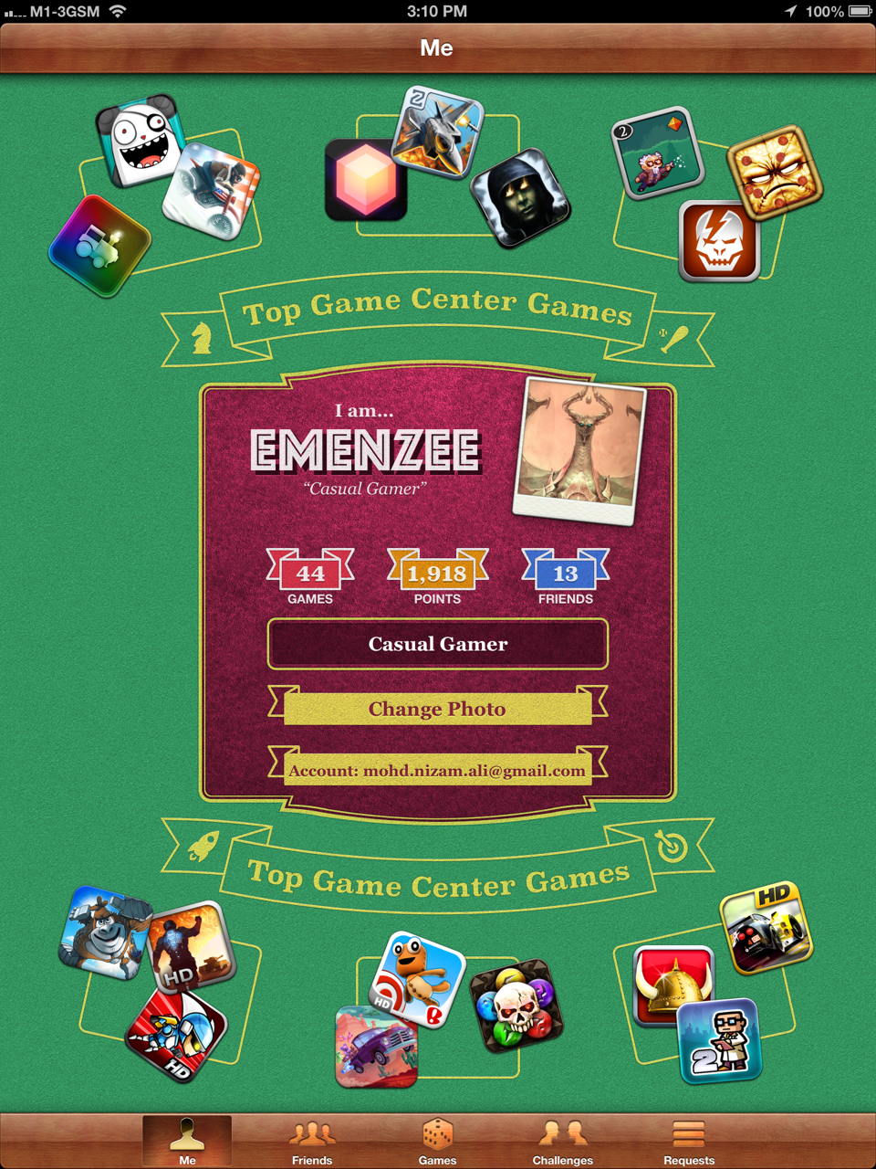 Cover photo of the games I played on the iOS (iPhone/iPad