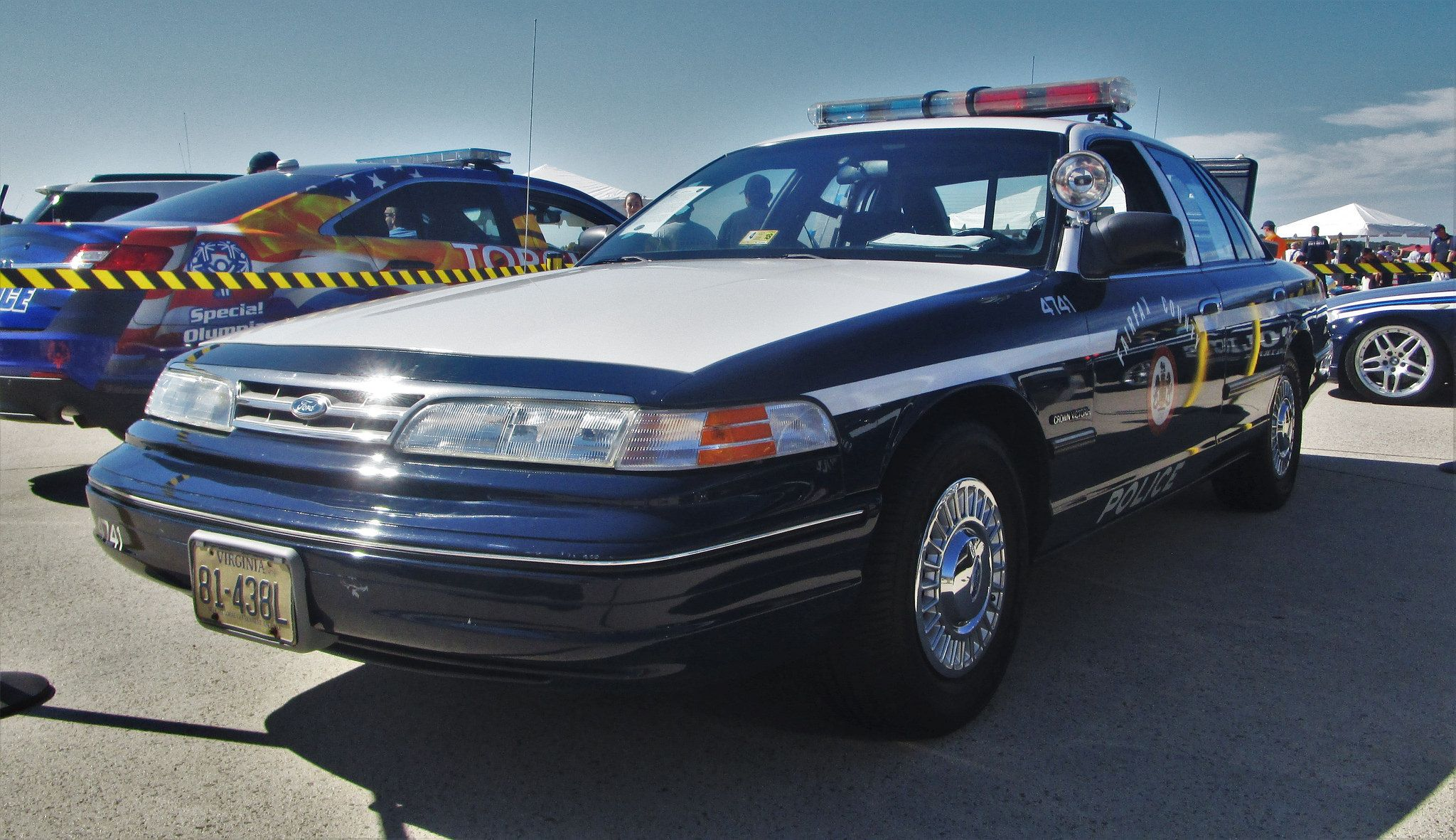 Fairfax County Police Department 1993 Ford Crown Victoria Police Interceptor Victoria Police Police Police Cars