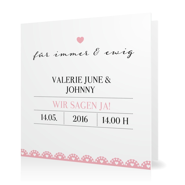 Hochzeitseinladung Rüschen zum Fest in Sorbet - Klappkarte quadratisch #Hochzeit #Hochzeitskarten #Einladung #Foto #kreativ #modern https://www.goldbek.de/hochzeit/hochzeitskarten/einladung/hochzeitseinladung-rueschen-zum-fest?color=sorbet&design=ab0f6&utm_campaign=autoproducts