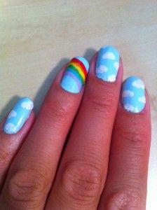 Nail Art For Summer Rainbow Nails Nails Rainbow Nail Art
