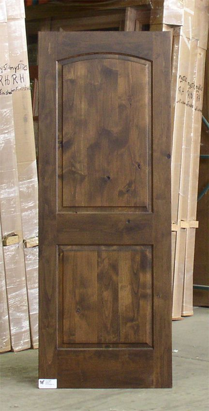 Knotty Alder Doors By Woodgrain Millwork In The Whole