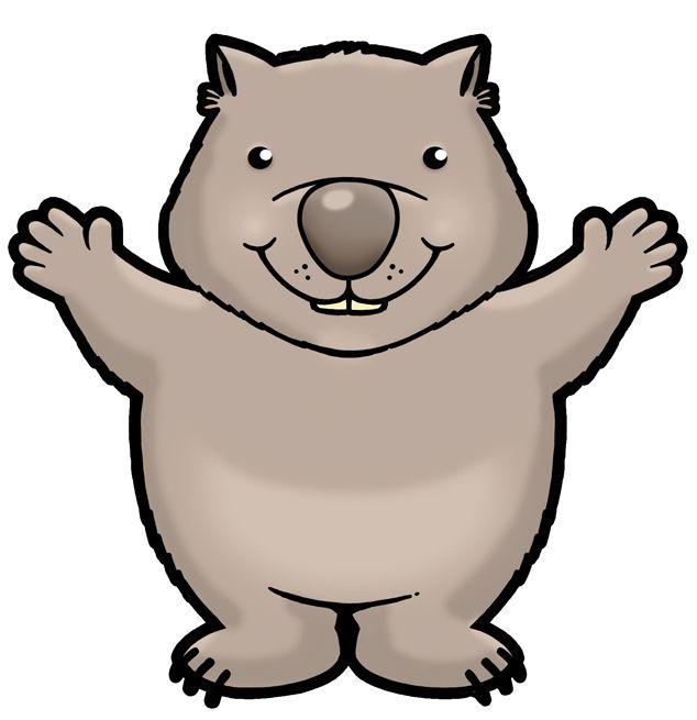 cute wombat illustration - Google Search