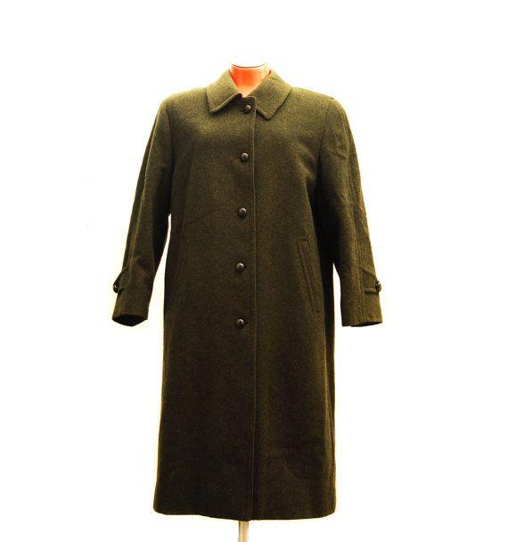 0b08bfbdb3c Vintage Himalaya Loden coat
