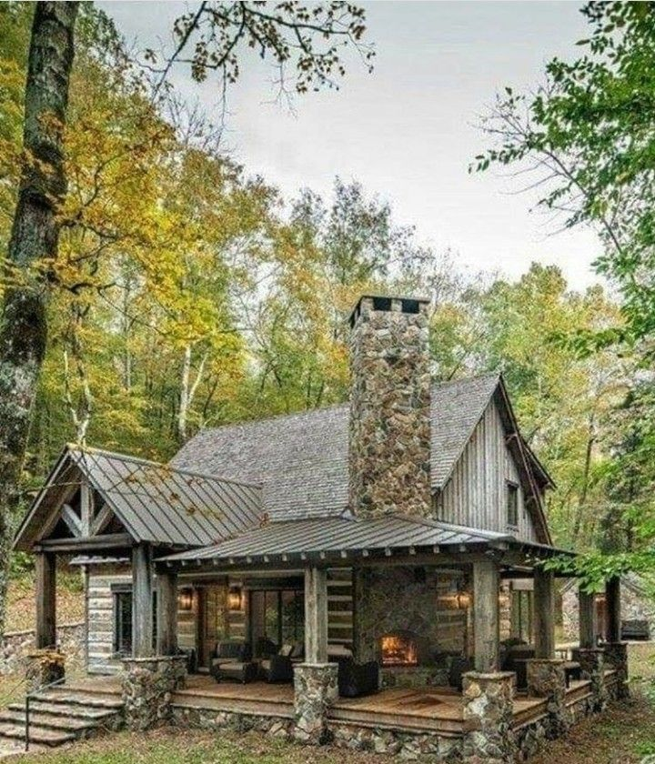 Pin By Ketevan On Charming Cabins And Houses And Caravans Sheds Cabins In The Woods Cabins And Cottages Rustic House