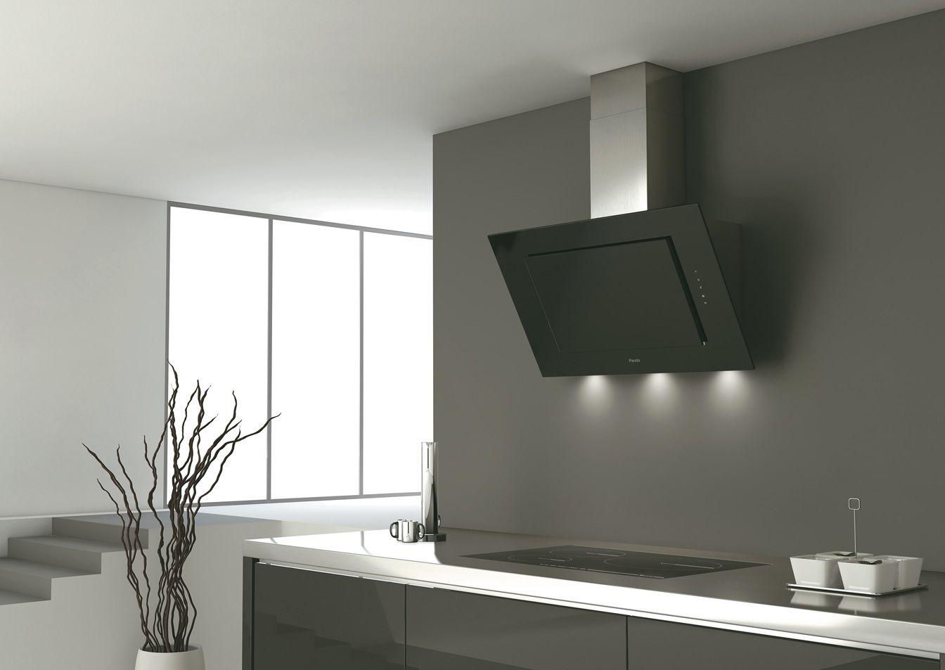 Campana extractora pando p732 campanas de pared campanas de cocina cocinas modernas - Campanas de cocina ...