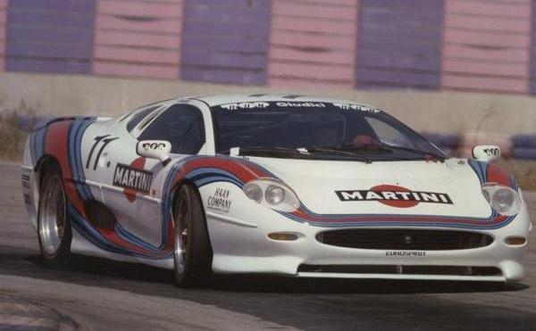 Jaguar XJ 220 GT Cup - Martini Racing Team - Gianni Giudici