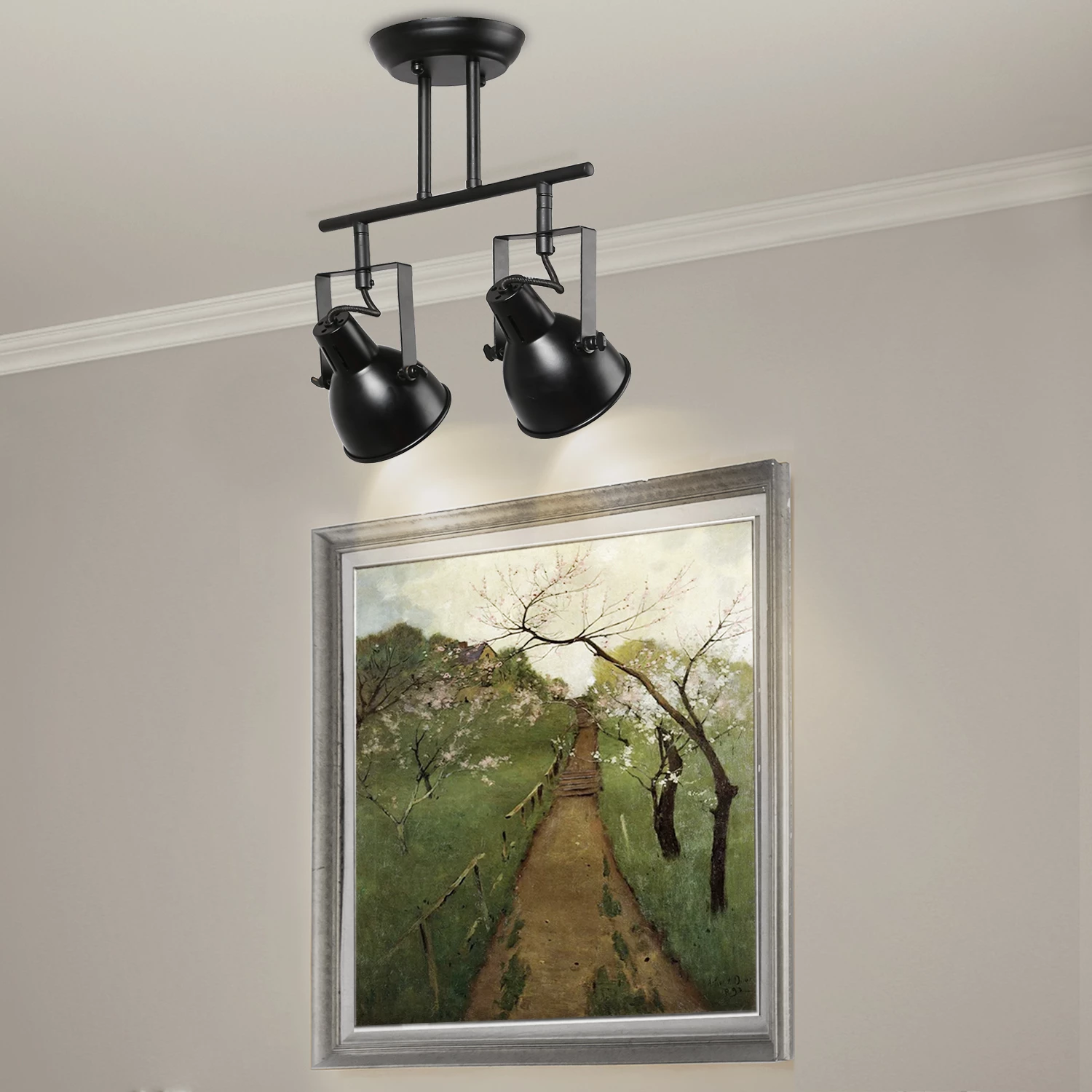 Modern Spot Light 2 Lights With Images Farmhouse Track