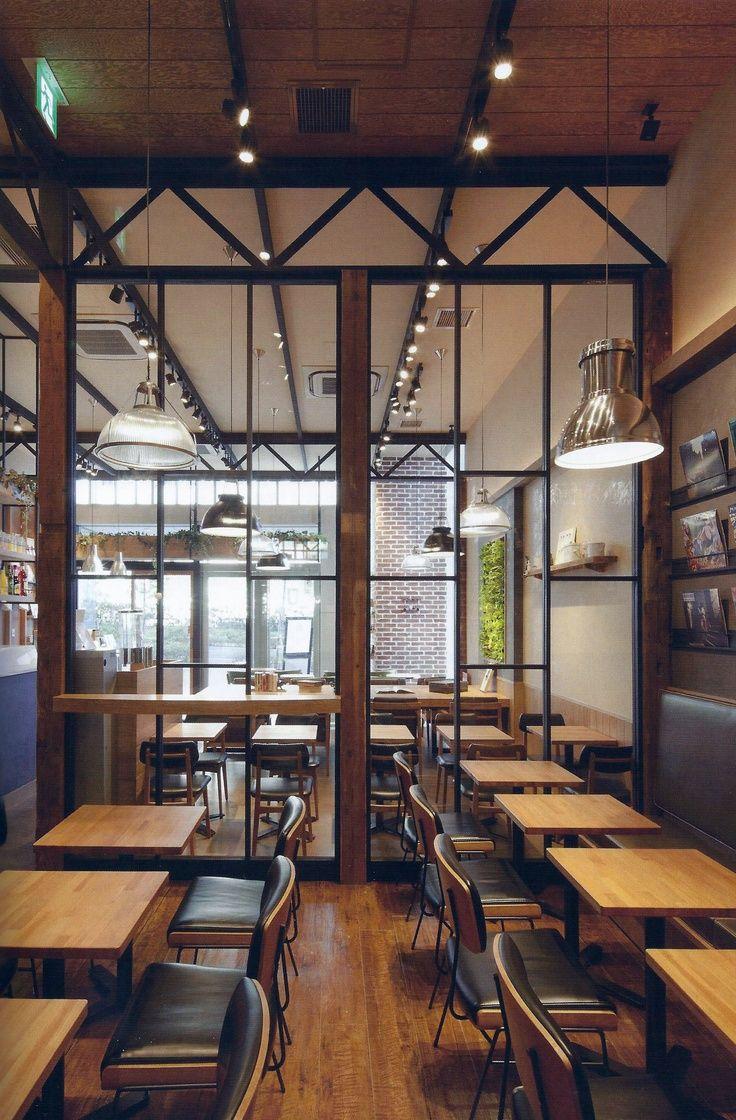 Glass Partition Client Mz In 2019 Restaurant Design
