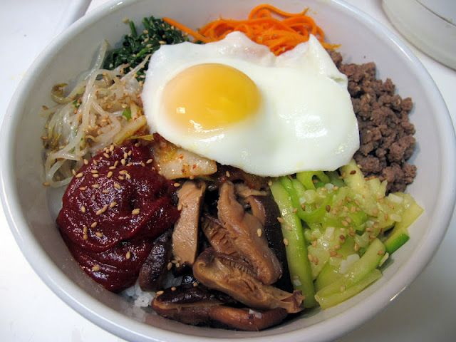 I Believe I Can Fry: Banchan Week, Day 7: Bibimbap (비빔밥) - Korean Mixed Rice