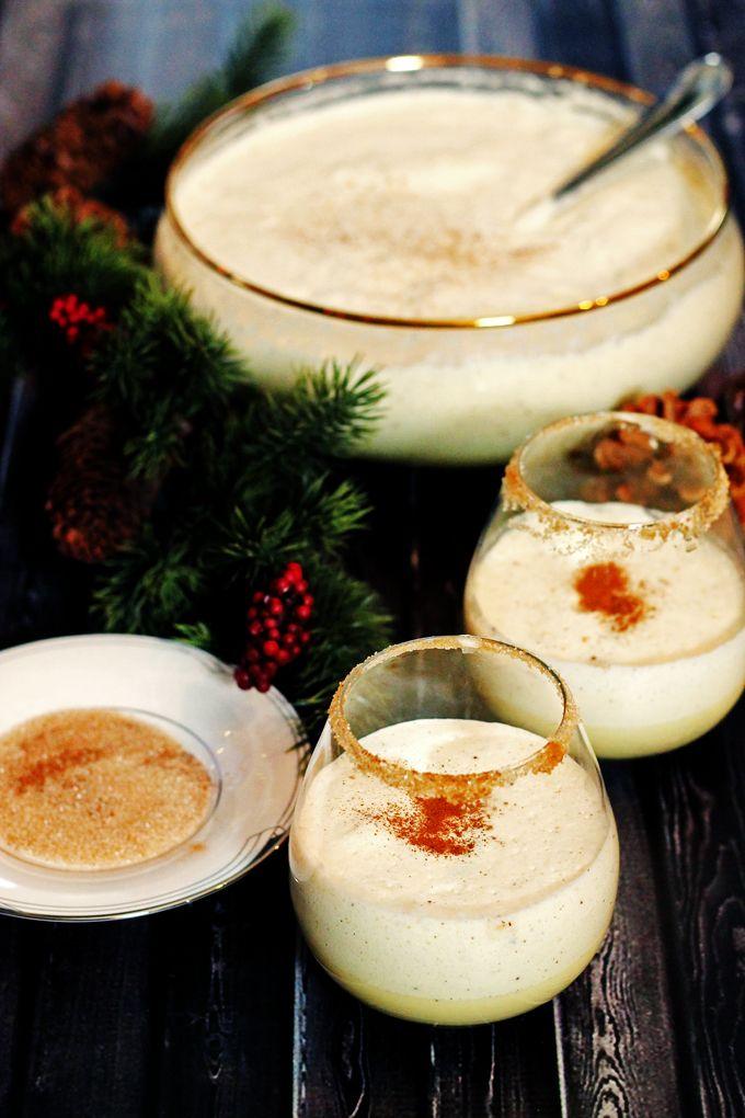 Homemade Eggnog With Rum And Kahlua Recipe Homemade Eggnog