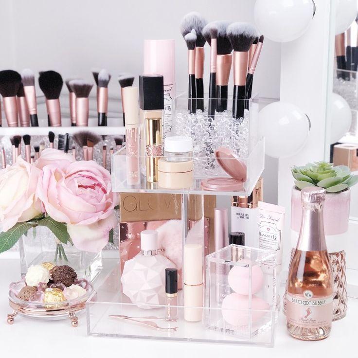 Coco Perfume Stand | Acrylic Makeup Organizer | Perfume Organizer | Perfume Stand