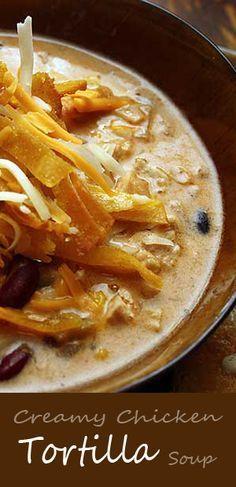 Creamy chicken tortilla soup recipe creamy chicken tortilla soup creamy chicken tortilla soup recipe creamy chicken tortilla soup chicken tortilla soup and tortilla soup forumfinder Image collections