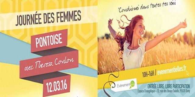 L'Equipe Événementielles est heureuse de convier toutes les femmes et jeunes filles à un grand rassemblement  spécialement pour elles, à Pontoise le samedi 12 Mars 2016.