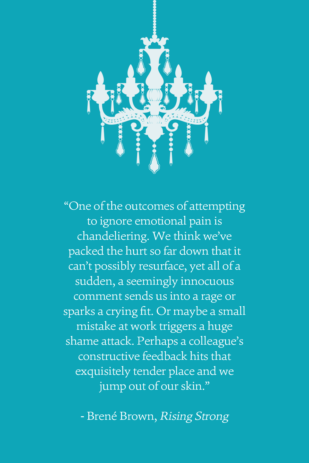 One of the outcomes of attempting to ignore emotional pain is ...
