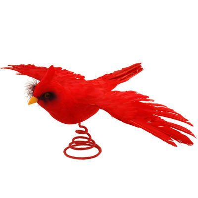 Cardinal Flying Tree Topper Tree Toppers Christmas Wonderland Tree