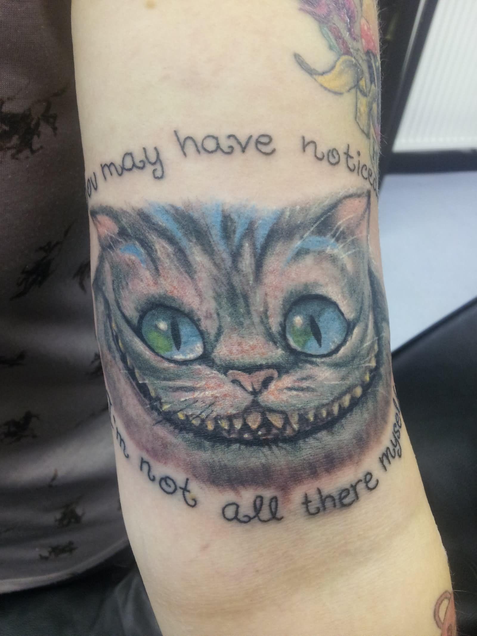 Increíble Sonrisa De Gato De Cheshire Para Colorear Embellecimiento ...