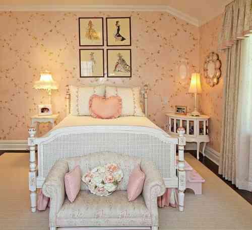 35 idées déco shabby chic pour une chambre de fille   Shabby chic ...