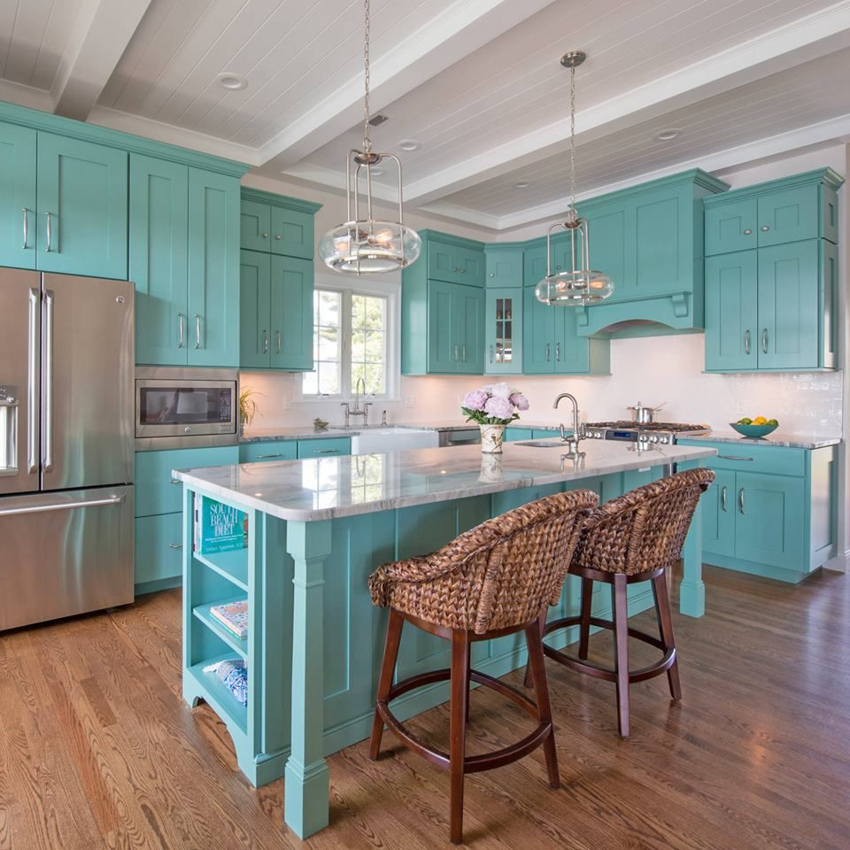 19424428 10154576801575808 2656839916771698924 N Jpg 960 960 Turquoise Kitchen New Kitchen Cabinets Home Kitchens
