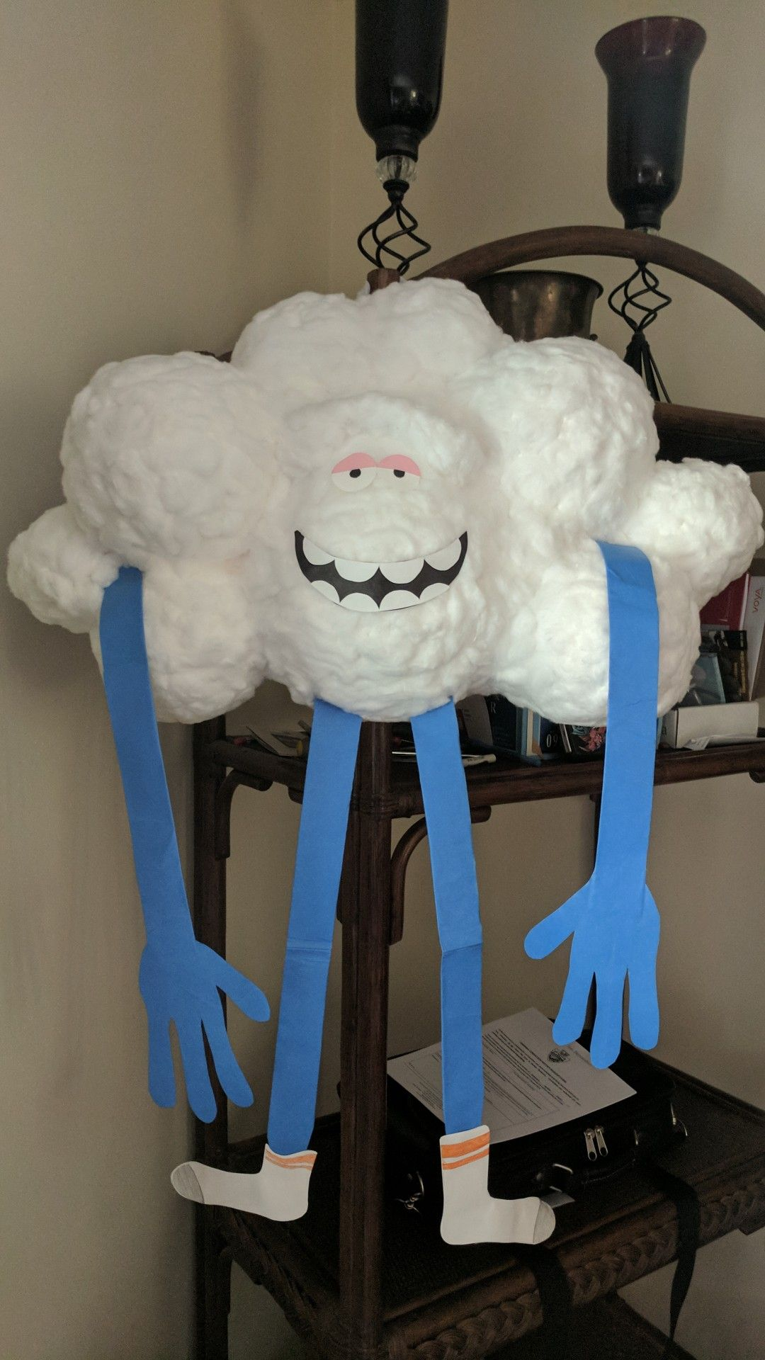 Guy cloud pinata trolls birthday pinata birthday parties