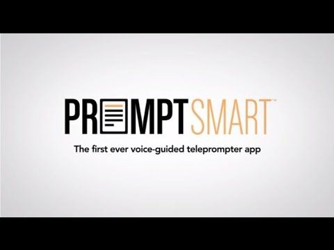 PromptSmart Speak with confidence! Voiceguided