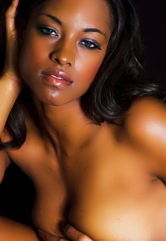 A gorgeous black girl do a very hot dp af 8