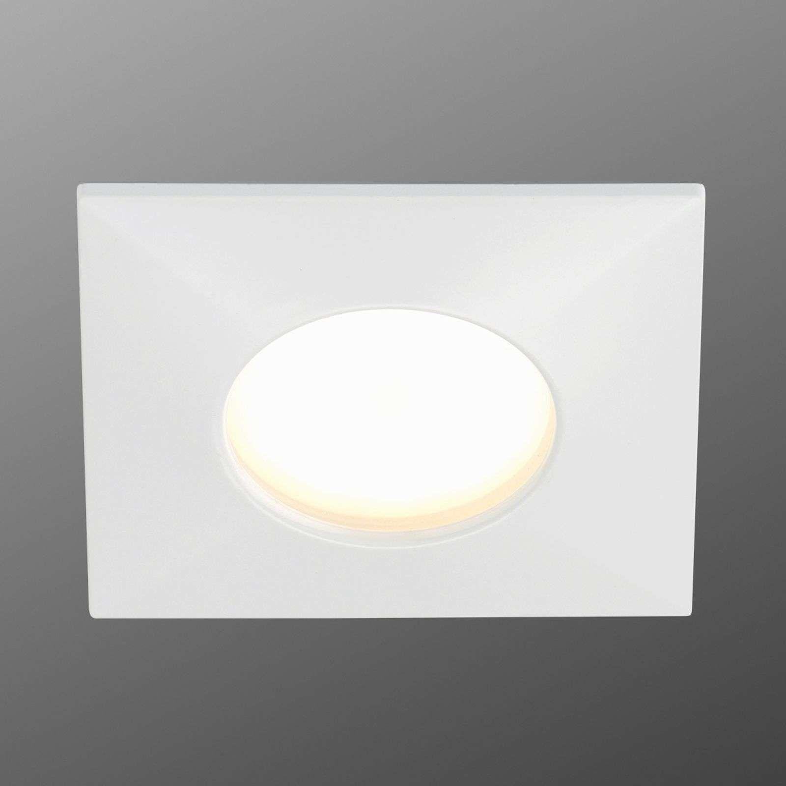 Luca Led Einbaustrahler Ip44 Weiss Luminaire Plafond Led Luminaire