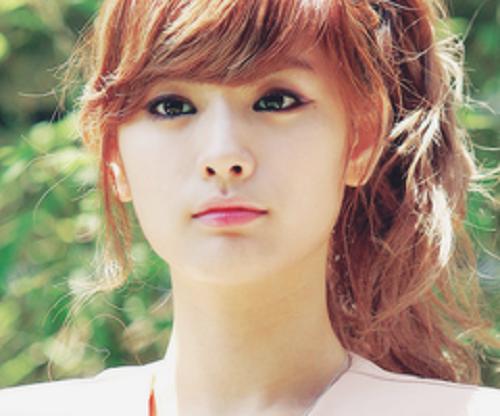 Korean Cute Ponytail With Bangs Hairstyles Bangs Hair Hair Styles