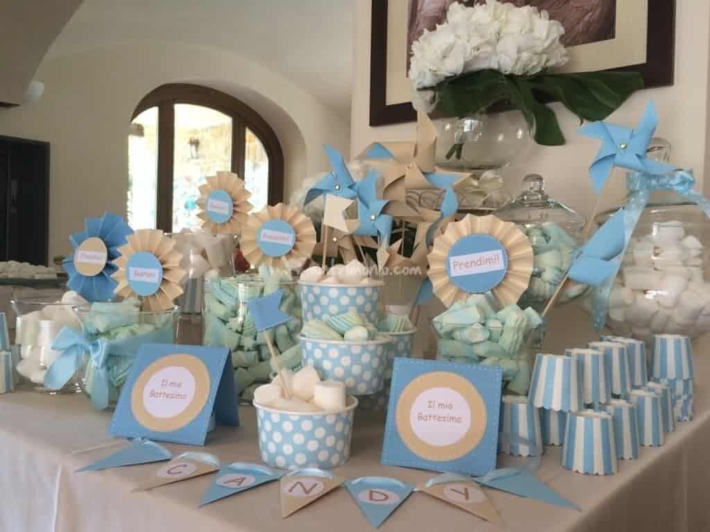 Come Addobbare Un Tavolo Per Confettata esempio confettata battesimo | festa di battesimo, battesimo