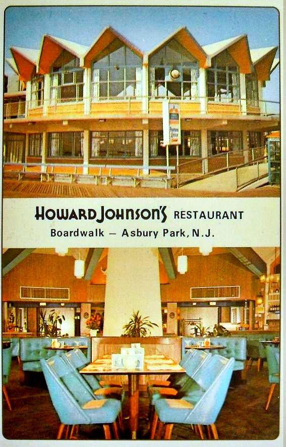 1963 Howard Johnson Restaurant Boardwalk Asbury Park Vintage