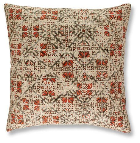 Tripp 19x19 Pillow Flame Decorative Pillows Accents Decor