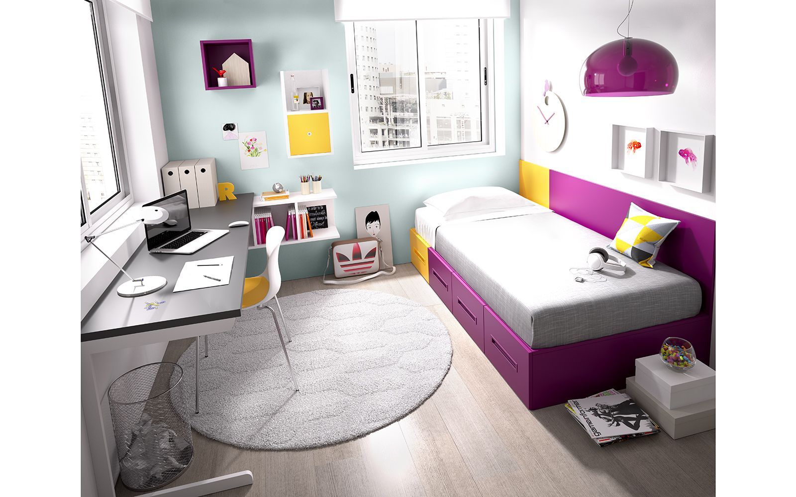 Dormitorio Juvenil Nido 2014-15