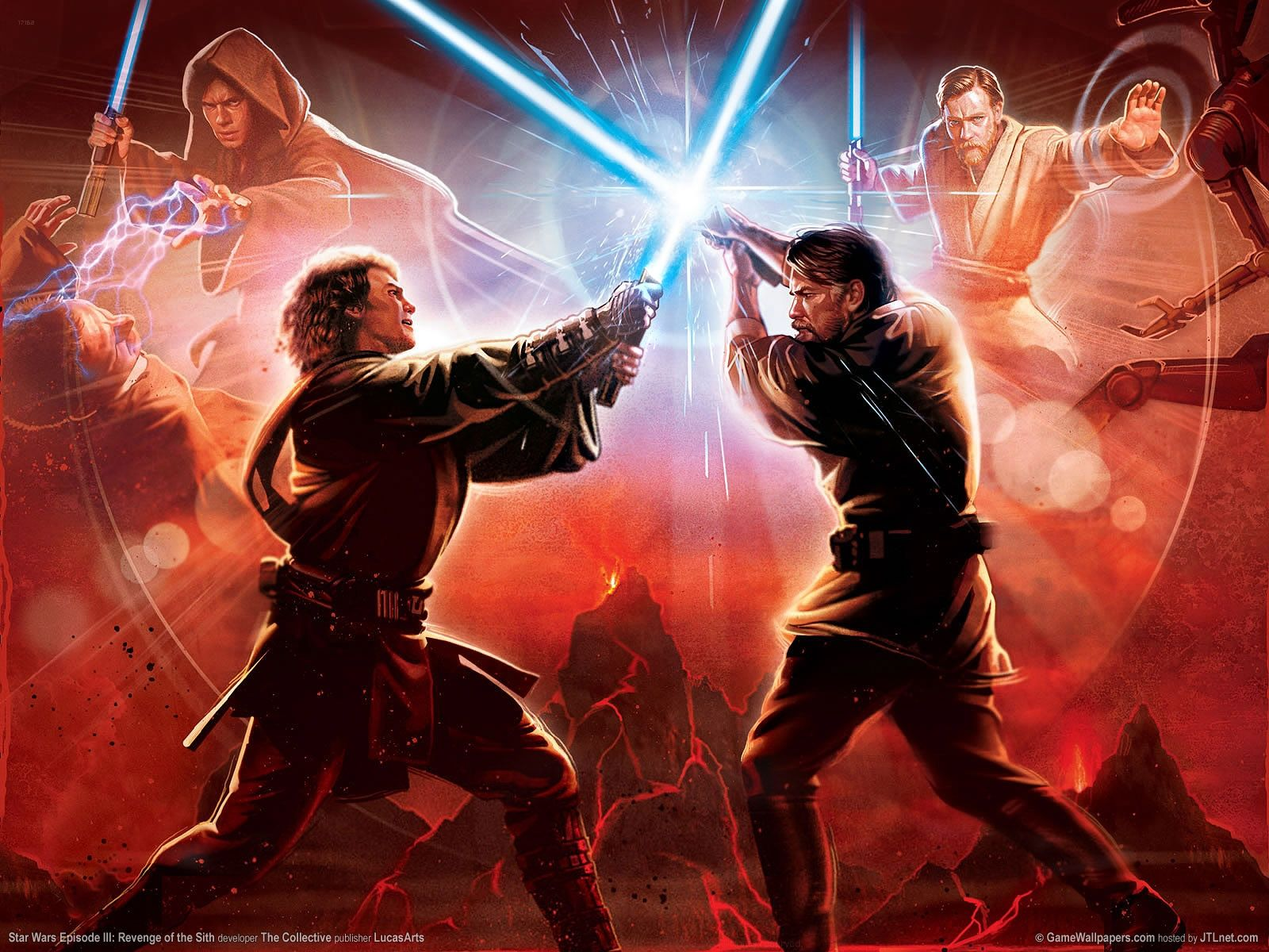 There Are Two Different Endings To The Final Battle The First Being That Obi Wan Defeats Anakin Li Star Wars Episodes Star Wars Villains Star Wars Celebration